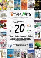 Affiche 20 ans Stand'Arts